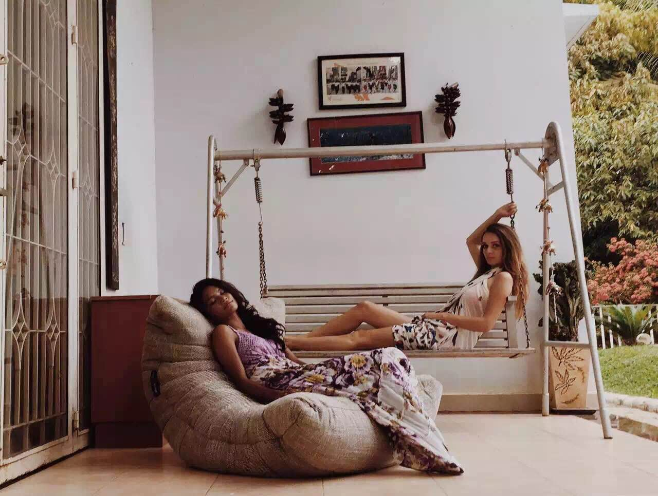 Ambient Lounge acoustic sofa bean bag in Cambodia